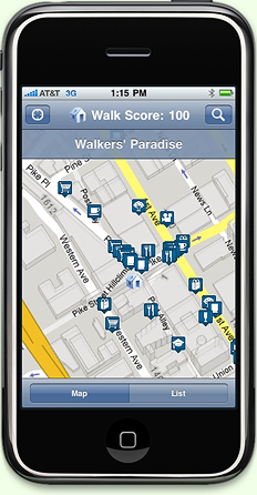 walk-score-iphone-app