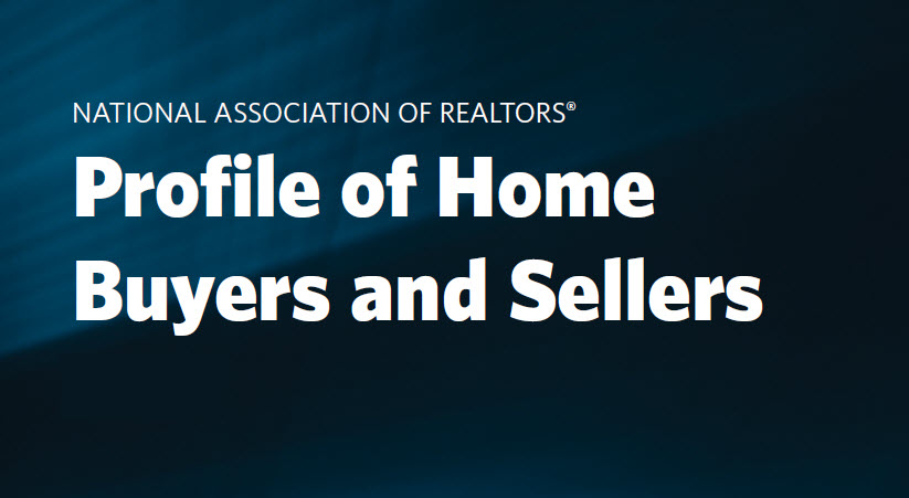 Profile of Home Buyers and Sellers